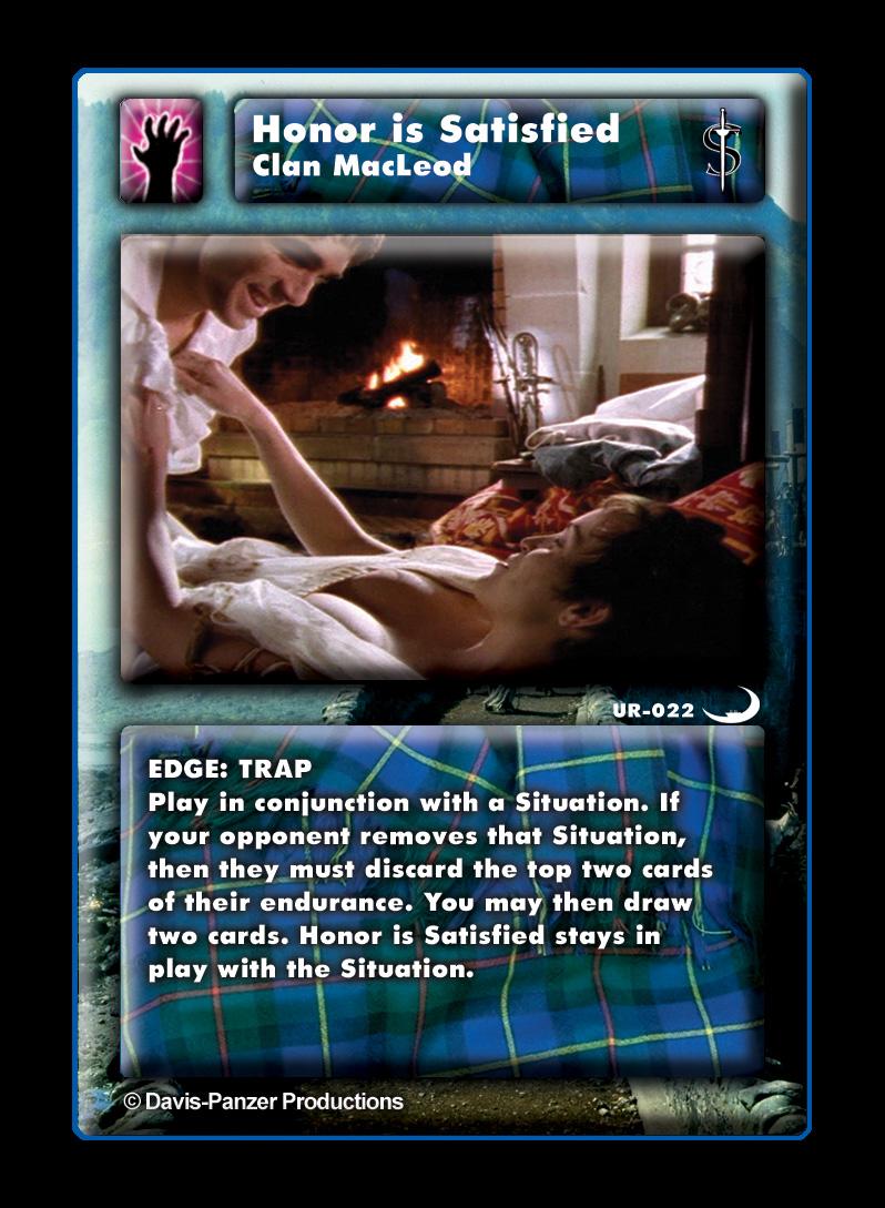 Resultado de imagem para Highlander cardgame